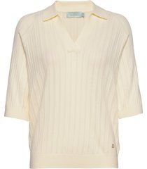 estee knit t-shirts & tops knitted t-shirts/tops creme morris lady