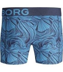 bjorn borg boxershorts 2-pak ancient nautical blue