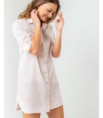 pijama blusón estampada