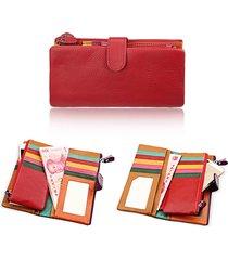donne elegante multi-slot borsa in pelle portafoglio portafoglio portafoglio