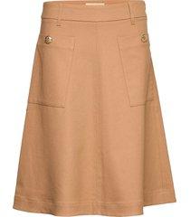 alice twiggy skirt knälång kjol beige mos mosh