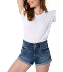 kendall + kylie juniors' ultra-high-rise jean shorts