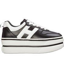 scarpe sneakers donna in pelle h449