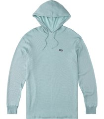 men's billabong men's keystone hoodie, size medium - blue