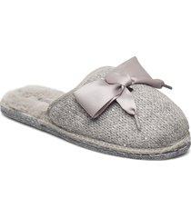 woms sabot clog slippers tofflor grå tamaris