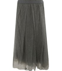 fabiana filippi flared lace skirt