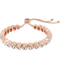 jessica simpson round stone friendship slider bracelet