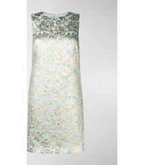 dolce & gabbana jacquard-woven shift dress