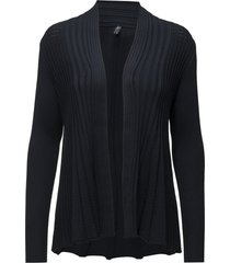 claudisse-s-car stickad tröja cardigan svart free/quent