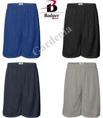 badger 7211 -11'' inseam pro mesh shorts athletic sport short s-5x