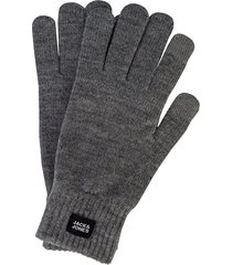 mens oliver knitted touch screen gloves