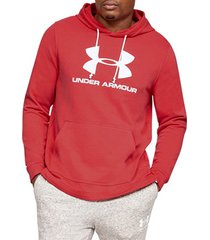 sweater under armour sportstyle terry logo hoodie 1348520-646