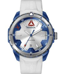 reloj blanco reebok impact men