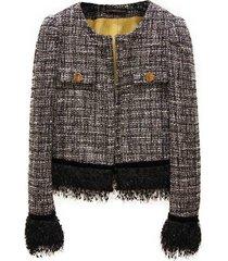 tweed jacket - adw2082c / n0188-80--40