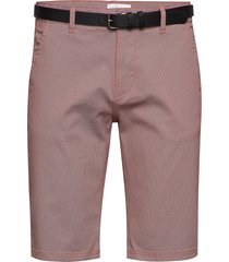 aop chino shorts w. belt shorts chinos shorts rosa lindbergh