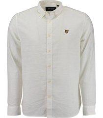 overhemd linnen wit