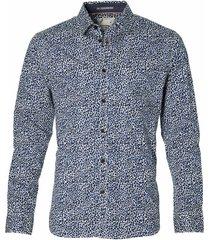 no excess overhemd - modern fit - blauw