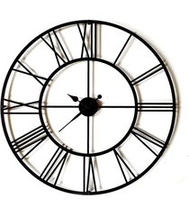 tik tak: zegar rzymski bigben, duży 800mm czarny