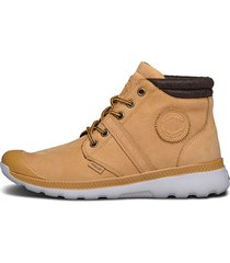 botas marrón claro palladium 95158-280
