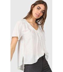blusa blanca kill gorro