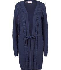 cappotto in maglia (blu) - john baner jeanswear