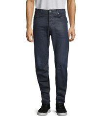 g-star raw men's buttoned stretch jeans - cobler - size 30 32