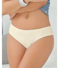 leonisa 3-pack stretch cotton bikini panties 12632x3