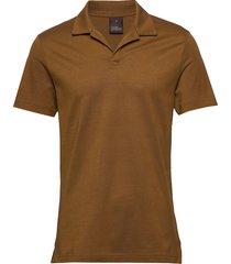 barrey poloshirt s/s polos short-sleeved bruin oscar jacobson