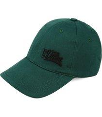 gorra verde-negro colore