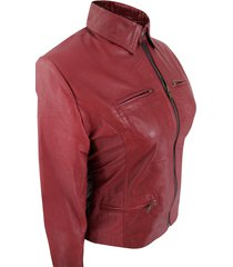 celebrity look once upon a time red emma swan leather jacket
