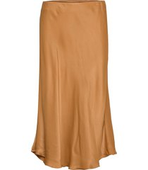 eddie skirt knälång kjol brun second female