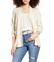 women's madewell bradley cardigan sweater, size small - ivory