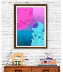 astronauta - plakat fine art 50x70 cm