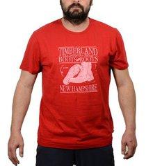 t-shirt korte mouw timberland -