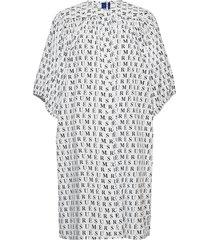 adele dress jurk knielengte wit résumé