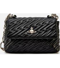 vivienne westwood women's coventry medium handbag - black