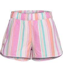 print shorts in poplin shorts rosa gap