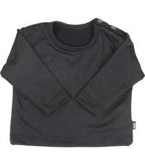 blusa tã©rmica para beb㪠segunda pele thermo premium original - preto - poliã©ster - dafiti