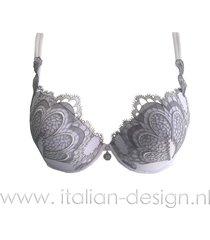 ambra lingerie bh's grand arche oil-push bh wit 0326