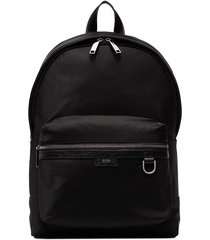 boss meridian zip-up backpack - black