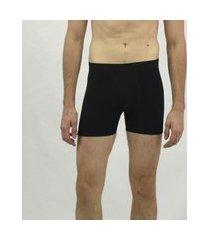 cueca boxer color e/a emporio alex malha preto