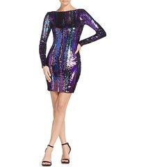 lola sequin mini dress