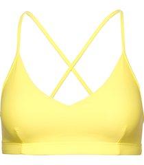shiny cross-back top bikinitop gul filippa k soft sport