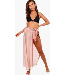 petite satin tie beach sarong