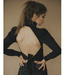 bluzka z odkrytymi plecami paris