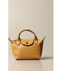 longchamp mini bag le pliage cuir bag in mini leather with logo