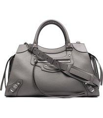 balenciaga medium neo classic tote bag - 1219 dark grey