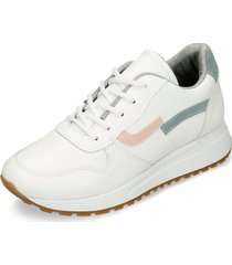 zapatos casuales blanco bata igre mujer