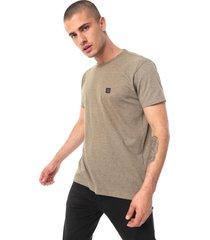 camiseta hang loose basic back verde - verde - masculino - dafiti