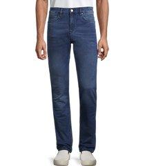 boss hugo boss men's deleware skinny jeans - blue - size 30x32